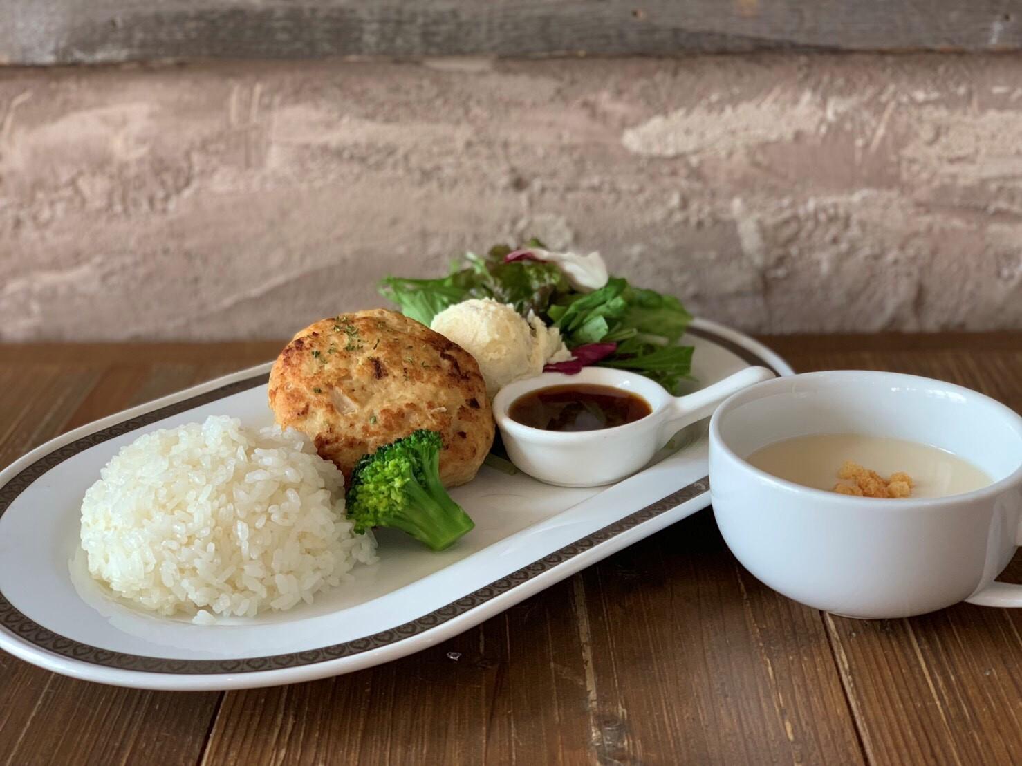 自家製ヘルシー豆腐ハンバーグ 1,000円